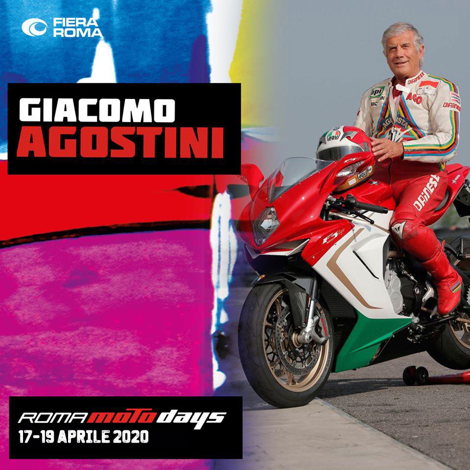 Giacomo Agostini, La Leggenda a Roma Motodays